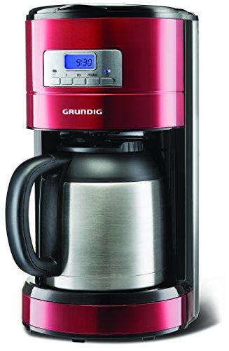 KM 6330 T Programmierbare Kaffeemaschine 1000 W mit Thermokanne, 8 Tassen, 1,2 l Fassungsvermögen, rot Sense