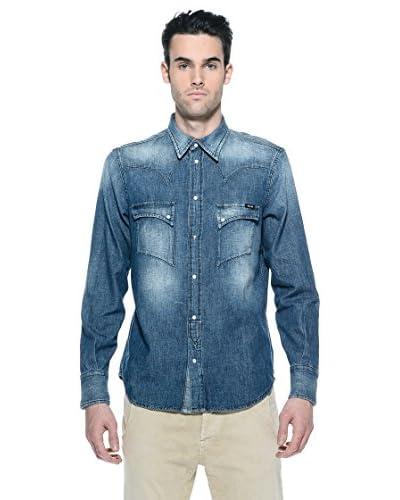 Rare Camisa Vaquera Luke Azul