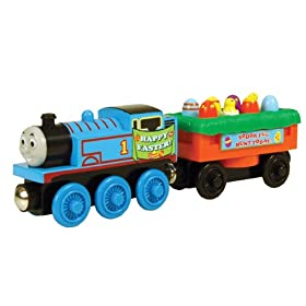 Learning Curve Thomas and Friends Wooden Railway Thomas Easter Egg Car