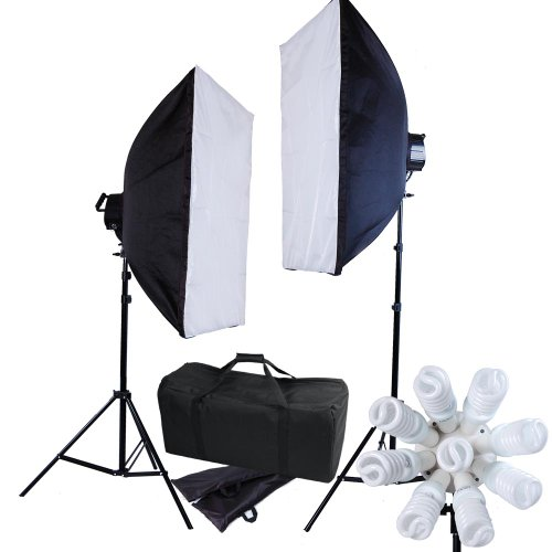 AW Pro 18 Light 3600W Continuous Lighting Softbox Kit 7ft Light Tripod Photo Video Studio Portrait