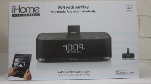 Ihome Iw4 Airplay Wireless Dock And Speakers