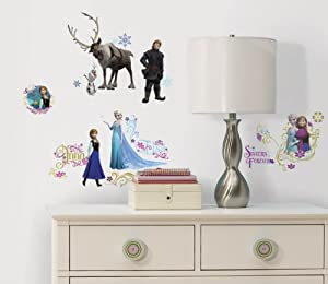 RoomMates RMK2361SCS Frozen Peel and Stick Wall Decals