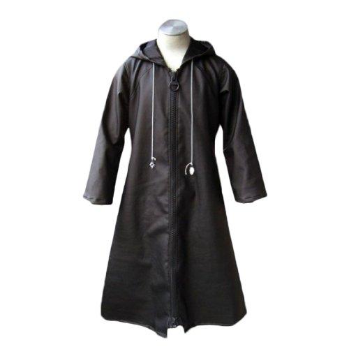 Kingdom Hearts Cosplay Costume -Organization Xiii Cloak 1St Kid Large
