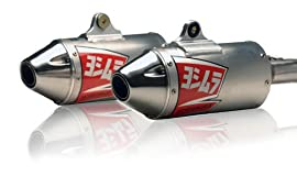 Yoshimura RS3 Dual Oval Muffler Off Road Exhaust Systems 2282503
