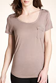 Autograph Pure Modal Scoop Neck T-Shirt [T50-3482-S]