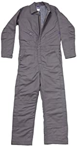LAPCO CIFRGYDK-LAR TL 12-Ounce Duck Flame Resistant Insulated Coverall, Grey by LAPCO