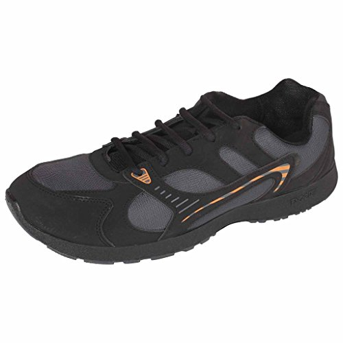 Campus Cobra Series Balck & Dark Grey Color Casual Shoes For Men ( Size :-8UK)  available at amazon for Rs.474