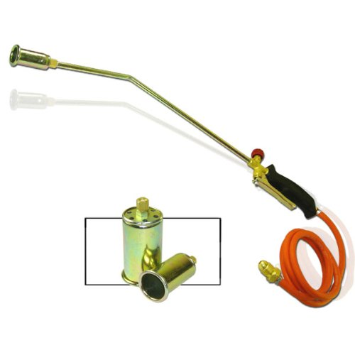 Propane Turbo Torch - 3 Nozzles - Turbo-Blast Trigger with 60