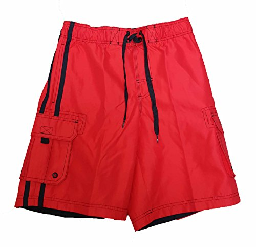op-red-solid-side-stripe-tugger-above-knee-205-outseam-swim-trunks-2xl