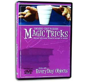 Amazing Easy to Learn Magic Tricks DVD: Tricks with Everyday Objects