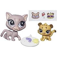 Littlest Pet Shop Pet Pawsabilities Sunny Cougar & Cubby Cougar