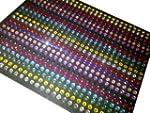 Crystals & Gems UK 270 X 5mm Gemmes E...