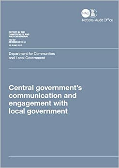 Central Government's Communication and Engagement With ...