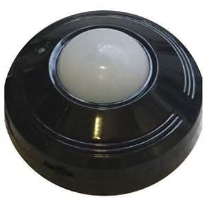 IDK PIR-360N Détecteur de mouvement 360° Noir