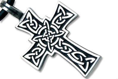 Tribal Celtic Cross Pendant (Jesus Christ Cross