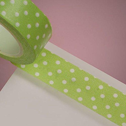 Mememall Fashion Decorative Style Roll Washi Sticky Paper Masking Adhesive Tape Crafts DIY Bulk (Han Solo Costume Diy)