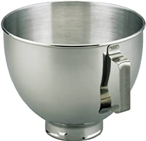 Kitchenaid K45SBWH 4-5-Qt. Stainless-Steel Bowl for KitchenAid Stand Mixer
