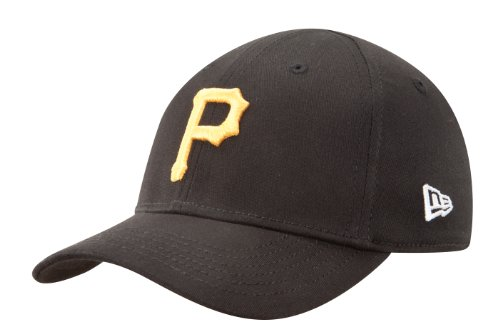 MLB Pittsburgh Pirates Kid's Tie Breaker 39Thirty Cap, Black, Toddler/Child