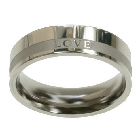Christian Womens Stainless Steel 6mm Abstinence