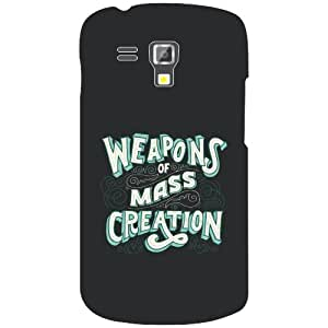 Samsung Galaxy S Duos 7562 mass creation Phone Cover - Matte Finish Phone Cover