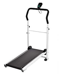 Amdirect New Mute Portable Folding Sliming Treadmill Running Machine