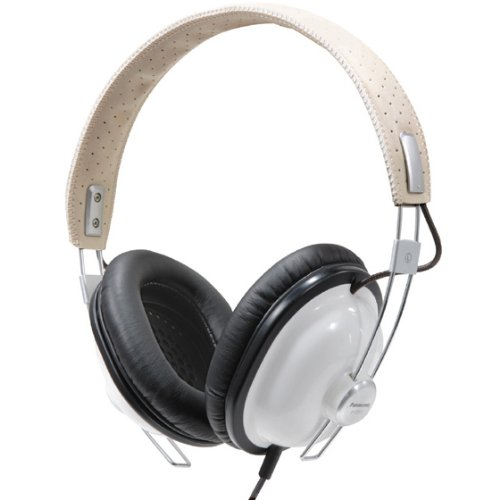 Panasonic RP-HTX7-W1 Stereo Headphones -White