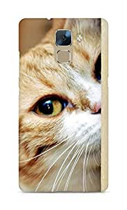 Amez designer printed 3d premium high quality back case cover for Huawei Honor 7 (lomo style abstract cat)