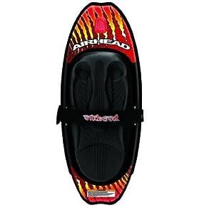 Buy Airhead Magma Kneeboard. Massive Rocker. Beveled Edges. SBT-AHKB2-00-10 by Airhead