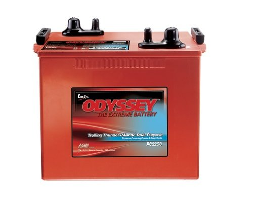 Odyssey Batteries PC2250 Heavy Duty/Commercial Battery
