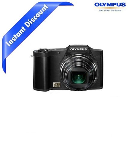 Olympus SP-620UZ 16MP Digital Camera with 21x Optical Zoom (Black)