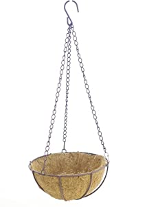 Mini lined hanging baskets