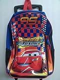 Disney Cars Backpack On Wheels