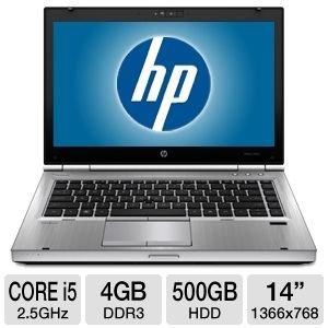 HP EliteBook Core i5 4GB, 500GB HDD, 14