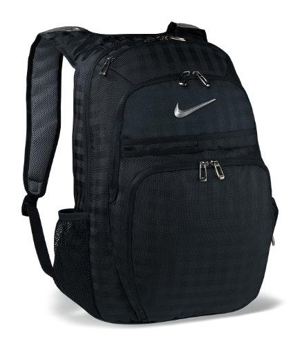 Nike Departure Backpack (Black/Silver)