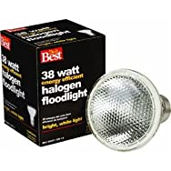 38W Halogen Floodlight Light Bulb-38W PAR20 HAL FLOOD BULB