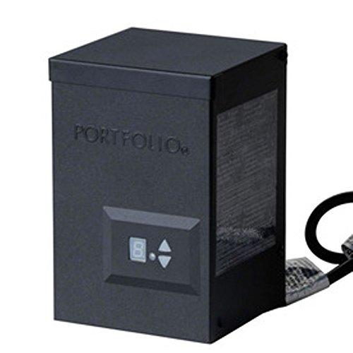 portfolio 120 watt landscape lighting transformer with digital timer. Black Bedroom Furniture Sets. Home Design Ideas