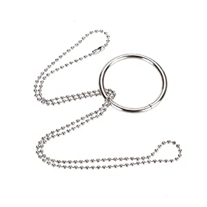 Magic Ring Chain Metal Magic Trick Props Knot
