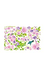 Ambience Live Vinilo Decorativo Birds and flowers Multicolor