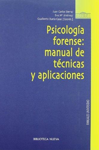 PSICOLOGIA FORENSE descarga pdf epub mobi fb2
