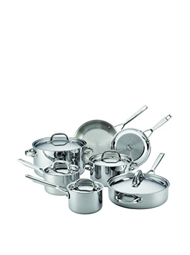 Anolon Tri-Ply Clad 12-Piece Stainless Steel Cookware Set