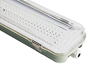 LED BATTEN FITTING 36WATTS 4Ft 1200mm NON Corrosive Direct 240v SUPPLY (IP66) Light Fitting LED Ceiling Light ideal for domestic and commercial use