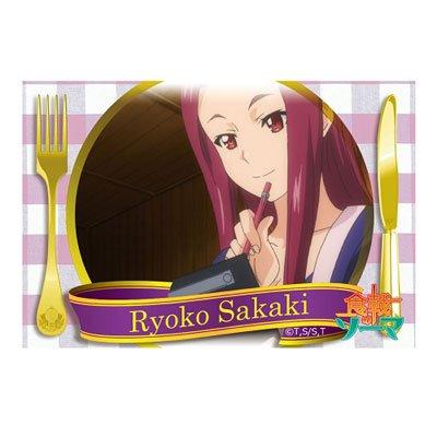 食戟のソーマ スクエア缶バッジ 榊涼子