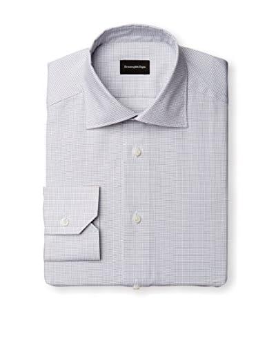 Ermenegildo Zegna Men's Check Dress Shirt