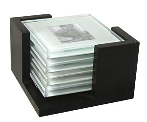 Malden 6807-01 Glass Coaster Set