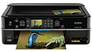Epson Artisan 710 Wireless Color Inkjet All-In-One Printer (C11CA53201)