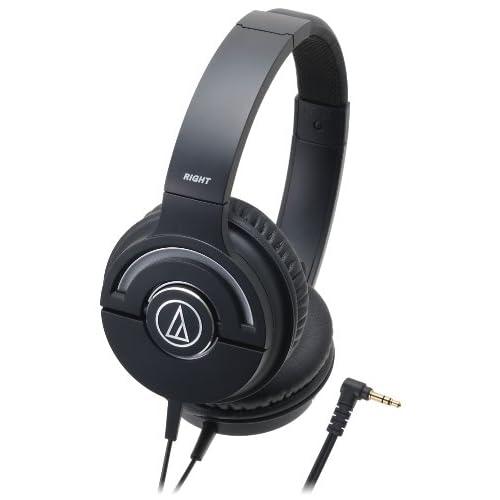 audio-technica SOLID BASS ATH-WS55X BLACKの写真01。おしゃれなヘッドホンをおすすめ-HEADMAN(ヘッドマン)-