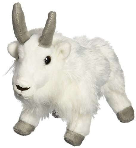 "Wild Republic CK-Mini Mountain Goat 8"" Animal Plush - 1"