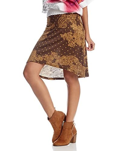 Desigual Gonna Chocolate [Marrone]
