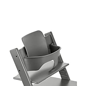 Stokke Tripp Trapp with matching Babyset - Storm Grey
