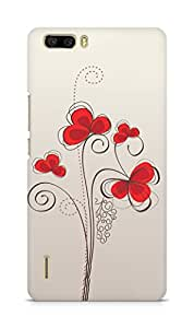 Amez designer printed 3d premium high quality back case cover for Huawei Honor 6 Plus (Colors patterns bright)